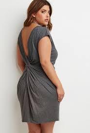 forever 21 knotted back shift dress plus size fashion u0026 style