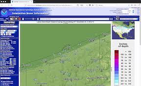 Snow Coverage Map Suomi Npp Cimss Satellite Blog