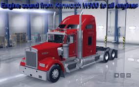 w900 engine sound from kenworth w900 to all engines american truck
