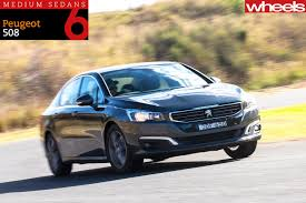 peugeot 508 interior 2016 family sedan comparison review peugeot 508 active wheels