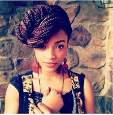 black braids hairstyle for sixty 22 best hair images on pinterest natural hair african