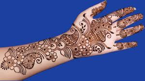 simple mehndi design for by tutorial