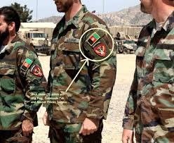 Army Uniform Flag Patch Kandahar Whacker Jsoc Afghan National Army Insignia Jtf Ana