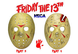 Jason Voorhees Mask Neca Friday The 13th Jason Voorhees Mask Replicas