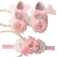 flower bow online shop newborn baby girl shoes brand flower bow toddler