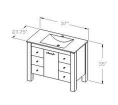 bathroom vanity design dimensions sixprit decorps