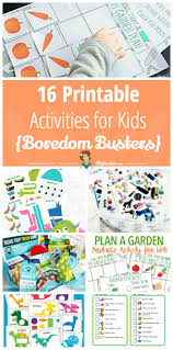 16 printable activities for kids boredom busters tip junkie