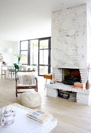 241 best painted brick fireplace images on pinterest live