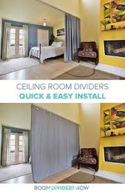 Diy Curtain Room Divider by Tension Rod Room Divider Kits Ceiling Spaces And Room