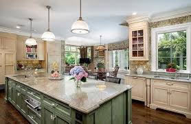 kitchen island colors with wood cabinets gorgeous contrasting kitchen island ideas pictures