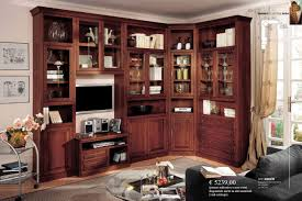 mobile ad angolo soggiorno decorazione scala corten