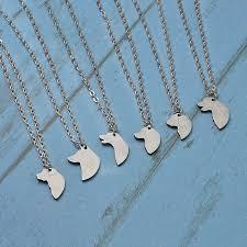silver pendant necklace australia images 2 pcs set silver dog tag pendant necklace australian shepherd jpg