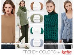 Colour Trend by Autumn Winter 17 18 Colour Trends Featured In Our New Yarns And In