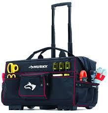 home depot black friday tool bag with wheels deals husky 22 u2033 rolling tool bag