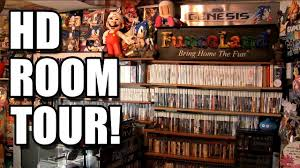 petedorr u0027s new game room tour hd youtube