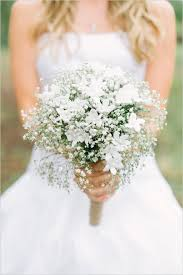 baby s breath bouquet wedding flowers 40 ideas to use baby s breath