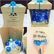 balloons in a box delivery balloon in a box delivery serendah rm15 untuk sekitar