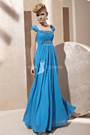 green clor long evening gown with sleeves for women 2014
