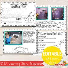 learning stories editable starskills