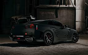 nissan gtr matte black and red nissan gtr r35 wallpapers group 90