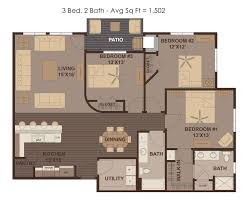 The Metropolitan Condo Floor Plan by Home