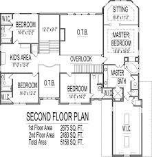 5 bedroom 2 story house plans bedroom 5 bedroom floor plans new two story 5 bedroom house plans