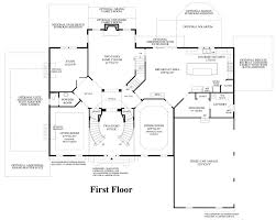 Georgian Floor Plan by Reserve At Northampton The Weatherstone Home Design