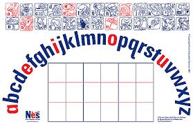 printable alphabet mat the alphabet mat and letter system