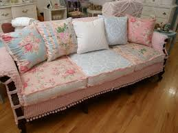 shabby chic sofa covers home design ideas