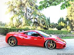 cars ferrari gold 458 speciale new gold stripes wheels side