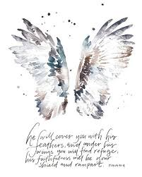 Seeking You Lost Wings A Word From The Sponsor March 10 Psalm 91 Shelter And Feathers
