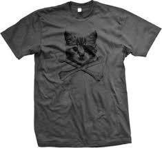 Tshirt Meme - kitten pirate cat with eye patch crossbones kitty furball meme