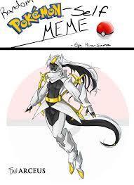 Arceus Meme - fanarceus pokemon meme by fan the little demon on deviantart