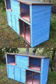 Double Rabbit Hutches 6ft Double Height Rabbit Hutch U2013 Chicubes