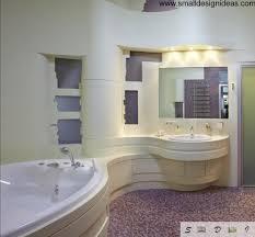 modern bathroom design trends unique round bath design real apartment
