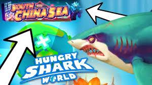 Hungry Shark Map New South China Sea Map Hungry Shark World Youtube