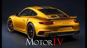 yellow porsche side view new 2018 porsche 911 turbo s exclusive series youtube