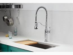 k 77515 tournant semi professional kitchen sink faucet kohler