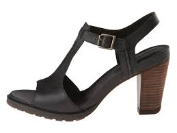 timberland earthkeepers stratham heights sandal in black lyst
