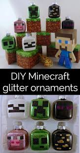 how to make minecraft glitter ornaments krysanthe