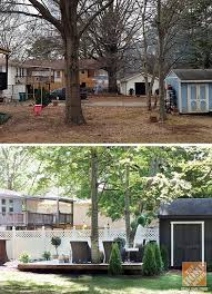 Backyard Makeover Ideas On A Budget The 25 Best Backyard Makeover Ideas On Pinterest Diy