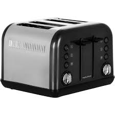 Morphy Richards 2 Slice Toaster Morphy Richards Accents 242031 4 Slice Toaster Black