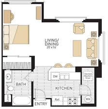Studio Plans by The Village At Spectrum Center Floor Plans Irvine California