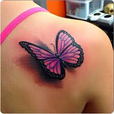 collection of 25 lovely butterfly on stomach side for