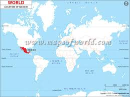 mexico on map where is mexico donde esta mexico location of mexico maps of