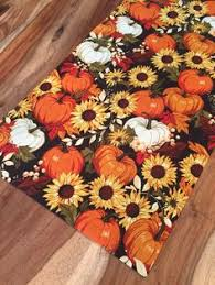 autumn harvest table linens homewear autumn foliage 72 cotton table runner linens