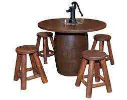 whiskey barrel coffee table u2014 unique hardscape design diy