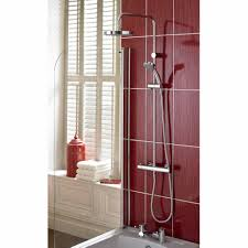 bristan exposed shower arm for rigid riser 250mm sa260 c on sale