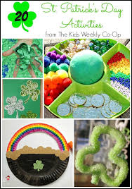 20 st patrick u0027s day activities for kids from the kids weekly co
