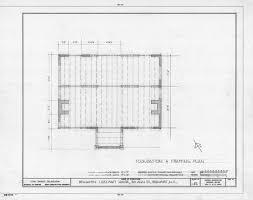 Carolina House Plans Foundation Framing Plan Leecraft House Beaufort North Carolina